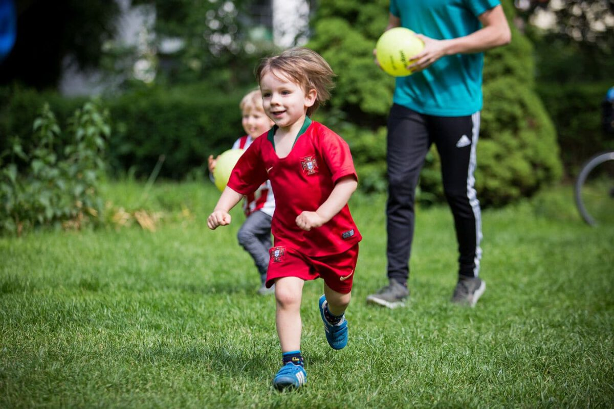 Bewegung bei Kindern