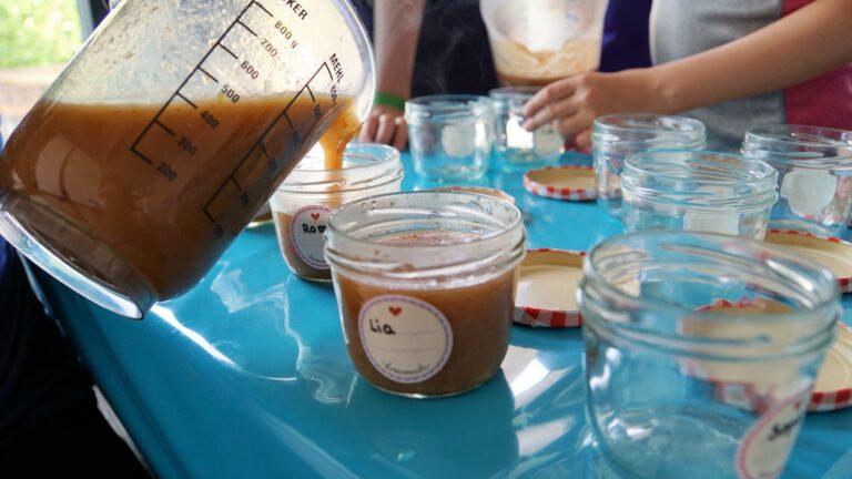 Marmelade einwecken